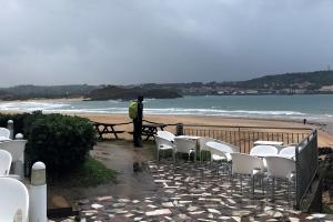 Surf and turf (och regn)